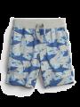 מכנסיים קצרים בהדפס כרישים / 12M-5Yמכנסיים קצרים בהדפס כרישים / 12M-5Y של GAP image №1