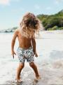 מכנסי בגד ים בהדפס אביזרים / בניםמכנסי בגד ים בהדפס אביזרים / בנים של EL CAPITAN image №1