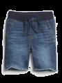 מכנסי ג'ינס קצרים עם פרנזים / 12M-5Yמכנסי ג'ינס קצרים עם פרנזים / 12M-5Y של GAP image №1