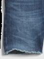 מכנסי ג'ינס קצרים עם פרנזים / 12M-5Yמכנסי ג'ינס קצרים עם פרנזים / 12M-5Y של GAP image №3