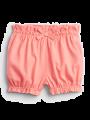 מכנסיים קצרים עם רקמת דובי / 0-24Mמכנסיים קצרים עם רקמת דובי / 0-24M של GAP image №1