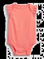 בגד גוף קצר עם שרוולי מלמלה / 0-24Mבגד גוף קצר עם שרוולי מלמלה / 0-24M של GAP image №1