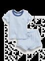 סט חולצה ומכנסי ריב קצרים / 0-24Mסט חולצה ומכנסי ריב קצרים / 0-24M של GAP image №1