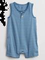 בגד גוף בהדפס פסים / 0-24Mבגד גוף בהדפס פסים / 0-24M של GAP image №1