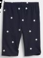מכנסי טייץ קצרים בהדפס כוכבים / בנותמכנסי טייץ קצרים בהדפס כוכבים / בנות של GAP image №1