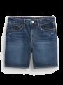 מכנסי ג'ינס קצרים בשטיפה כהה / TEENמכנסי ג'ינס קצרים בשטיפה כהה / TEEN של GAP image №2