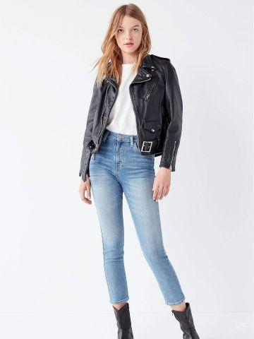 ג'ינס קרופ עם מותן גבוה BDG של URBAN OUTFITTERS