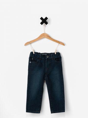 ג'ינס סקיני בשטיפה כהה / בייבי בנים של THE CHILDREN'S PLACE