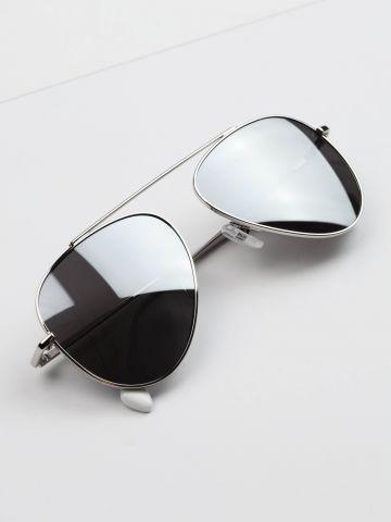 משקפיי שמש טייסים גשר של TERMINAL X