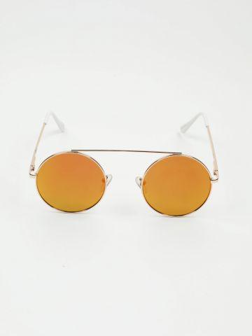 משקפי שמש עגולים עם גשר של TERMINAL X