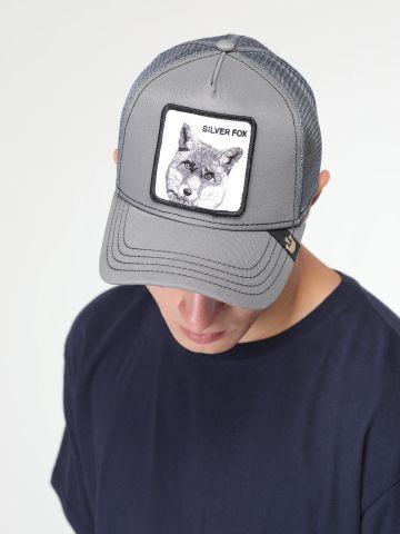 כובע מצחייה עם פאץ' שועל של GOORIN BROS