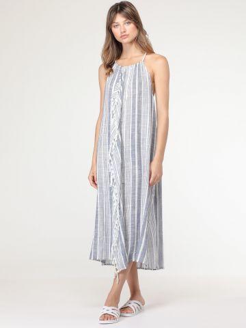 שמלת סרונג קולר עם גב פתוח של AERIE