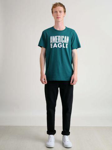 ג'ינס גזרה ישרה של AMERICAN EAGLE