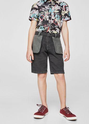 מכנסי ברמודה עם כיסי פאץ' חיצוניים / בנים של MANGO