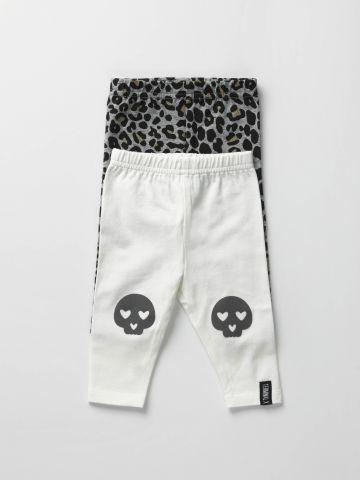 מארז 2 מכנסי טייץ / בייבי בנות של TERMINAL X KIDS