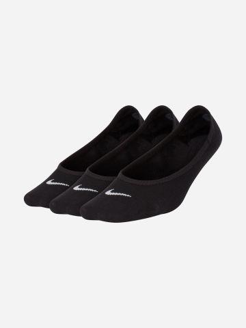מארז 3 זוגות גרביים נמוכים עם לוגו / נשים של NIKE