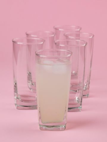 כוס זכוכית לשתייה קרה Plaza של FOX HOME