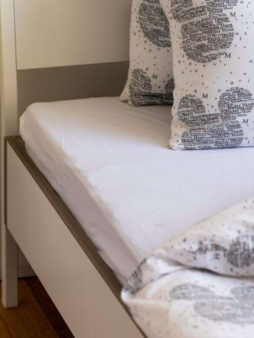 סדין ג'רסי למיטת יחיד / 90X200 של FOX HOME