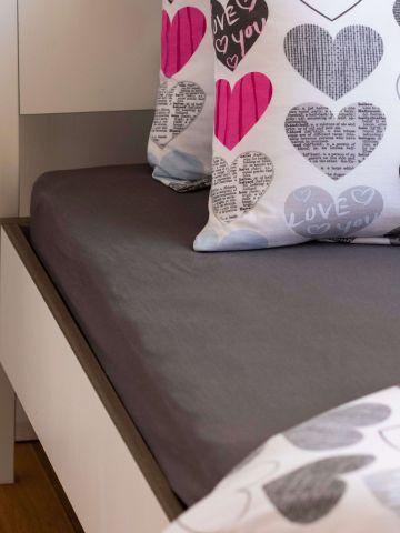 סדין ג'רסי למיטת יחיד / 120X200 של FOX HOME