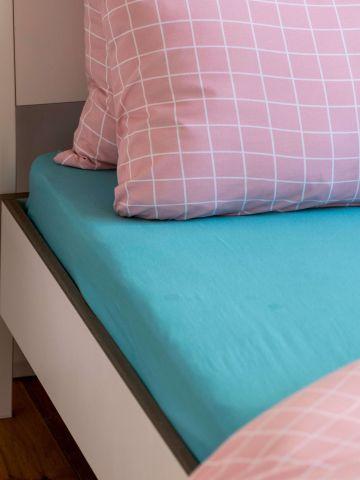 סדין ג'רסי למיטה זוגית / 180X200 של FOX HOME