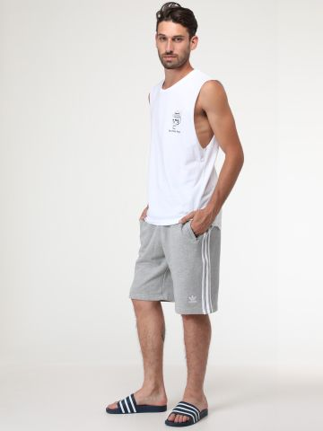 מכנסי טרנינג קצרים שלושה פסים של ADIDAS Originals