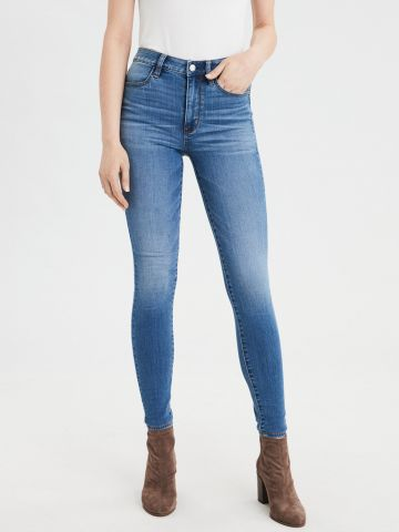ג'ינס סקיני High waisted jegging של AMERICAN EAGLE