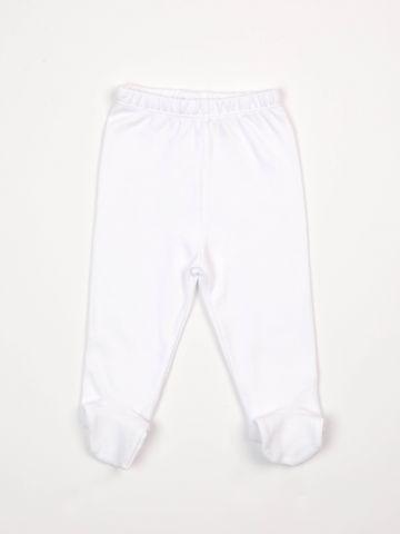 מכנסיים בייסיק עם רגליות / בייבי בנות של FOX