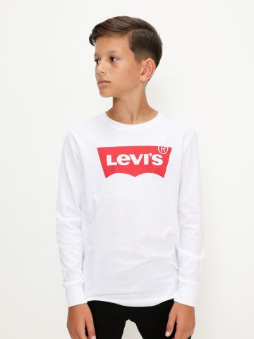 טי שירט לוגו / בנים של LEVIS