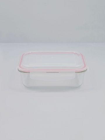 קופסת זכוכית למזון עם מכסה פלסטיק 1520 מ״ל של FOX HOME