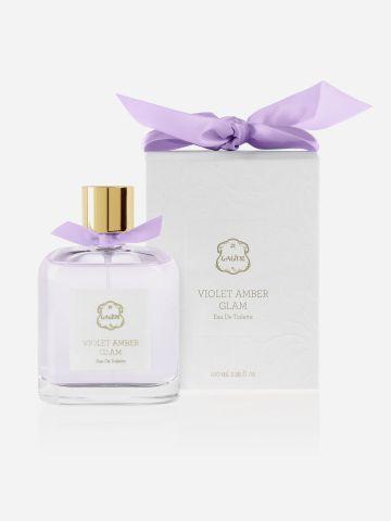 בושם או דה טואלט 100 מ״ל Violet Amber של LALINE