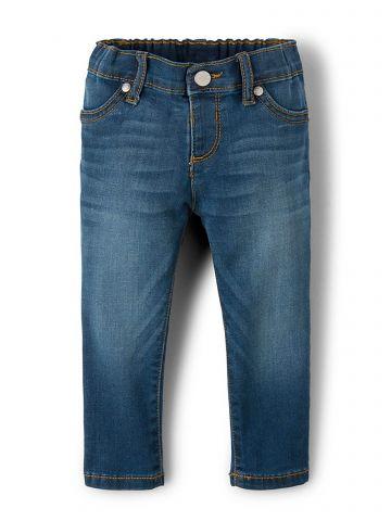 ג'ינס סקיני ווש/ בייבי בנות של THE CHILDREN'S PLACE