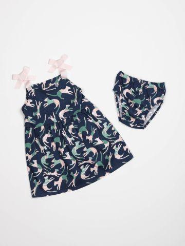 שמלה בהדפס חתולים / בייבי בנות של TERMINAL X KIDS