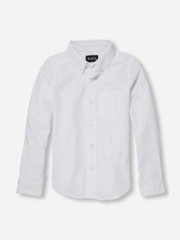 חולצה מכופתרת בייסיק עם כיס / בנים של THE CHILDREN'S PLACE