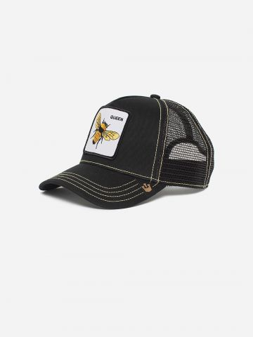 כובע מצחייה עם פאץ' דבורה QUEEN BEE / נשים של GOORIN BROS
