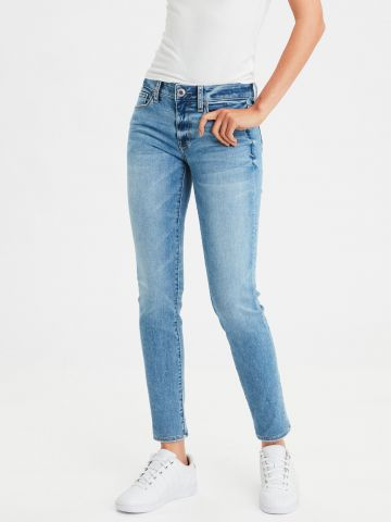 ג'ינס סקיני שטיפה בהירה Level skinny של AMERICAN EAGLE