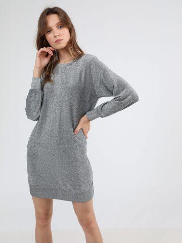 שמלת סווטשירט מיני לורקס של TERMINAL X