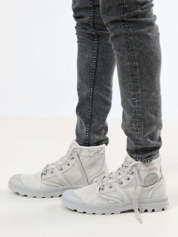 נעלי קנבס גבוהות Pallabrouse / גברים של PALLADIUM