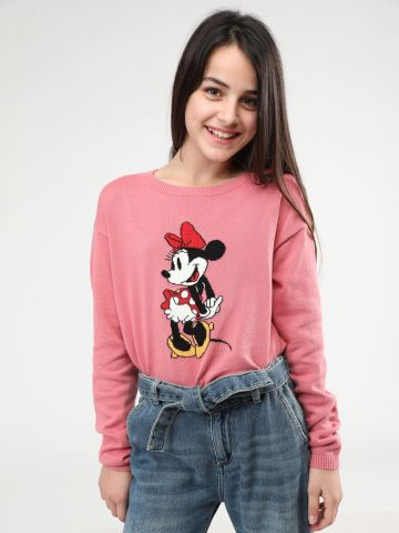 סוודר בייסיק מיני מאוס של UNIQLO