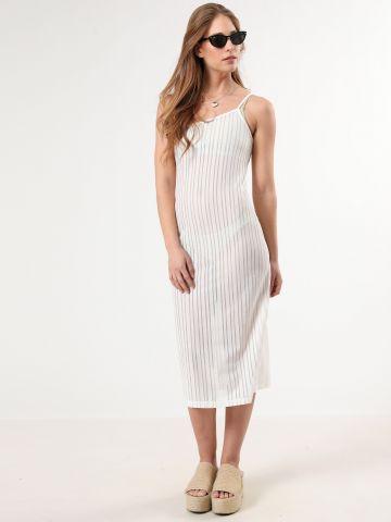 שמלת פסים מידי וואן שולדר של TERMINAL X