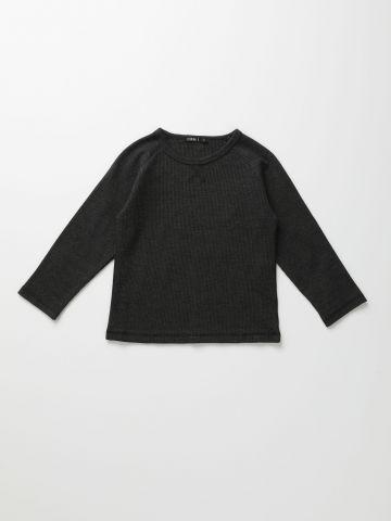 חולצת פיקה שרוולים ארוכים / 6M-6Y של TERMINAL X KIDS
