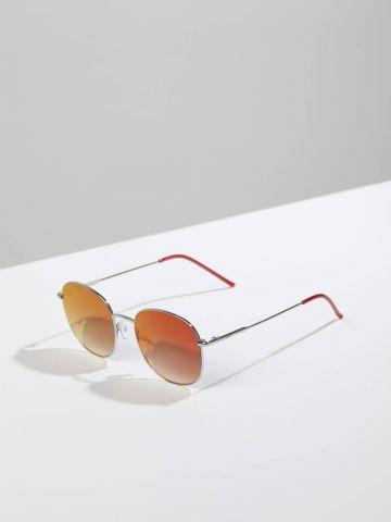 משקפי שמש עם מסגרת דקה Handea של TERMINAL X