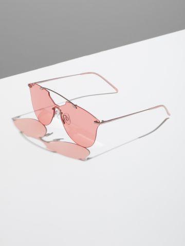 משקפי שמש עם עדשה צבעונית אומברה Amsterdam של QUESTION MARK