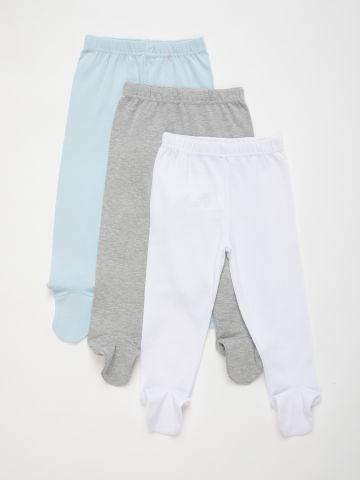 מארז 3 מכנסיים עם רגליות / N.B-12M של FOX