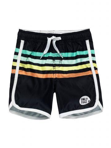 מכנסי בגד ים בהדפס פסים צבעוניים / בייבי בנים של FOX