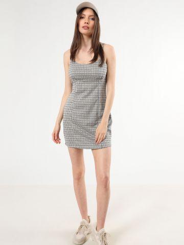 שמלת מיני בהדפס פפיטה של TERMINAL X