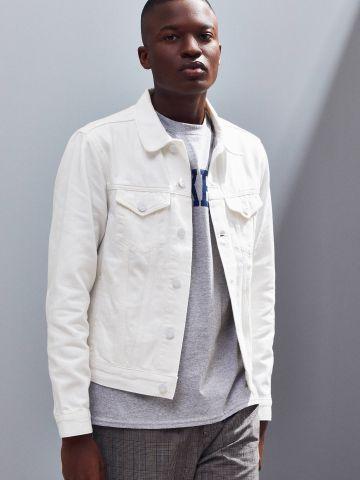 ג'קט ג'ינס עם כיסים BDG של URBAN OUTFITTERS