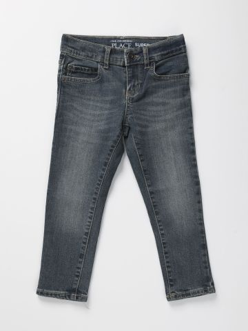 ג'ינס סקיני עם הבהרה עדינה / בנים של THE CHILDREN'S PLACE
