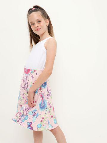 חצאית בהדפס פרפרים של THE CHILDREN'S PLACE