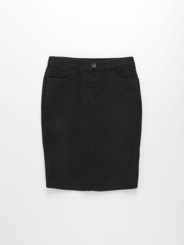 חצאית ג'ינס עם כיסים / בנות של THE CHILDREN'S PLACE