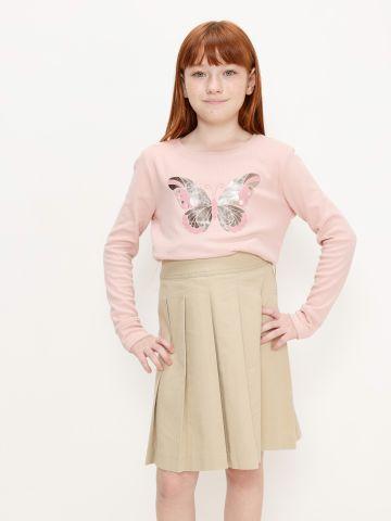 חצאית עם קפלים של THE CHILDREN'S PLACE
